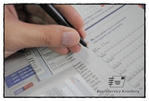 Ausgefüllte Änderungsmeldungen erfassen