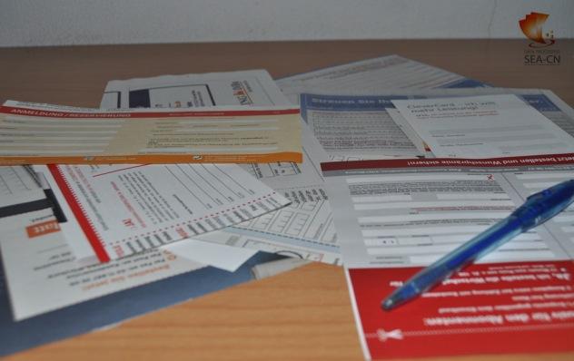 Bestellcoupons, Gewinnspielkarten, Kundenkartenanträge manuell erfassen