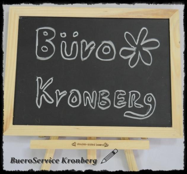 """Ihr Schreibbüro """"BüroService Kronberg"""""""