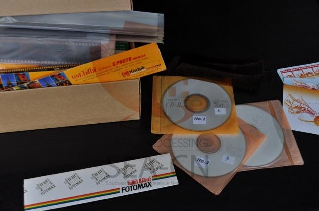 Negativfilmstreifen digitalisieren und auf CD, DVD oder HDD speichern