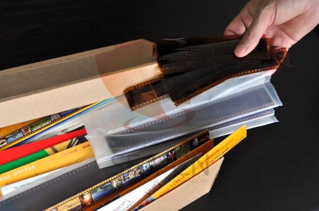 Negativfilmstreifen scannen auf CD, DVD oder HDD