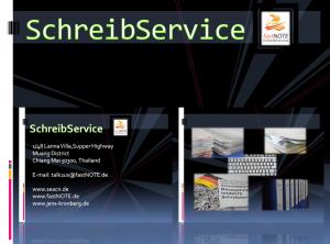 Unser Schreibservice - Dienstleister für Datenerfassung