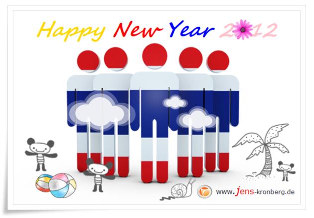 Unseren Büroservice Kunden aus Thailand alles Gute für 2012