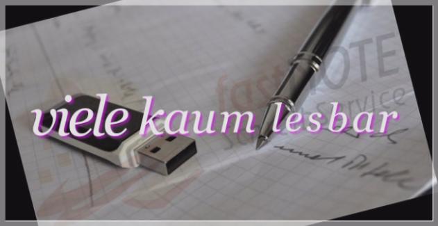 Büroservice Angebot handschriftliches abtippen