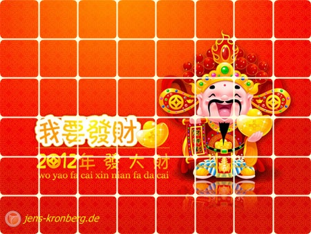 Happy Chinese New Year 2012 wünscht unser Büroservice