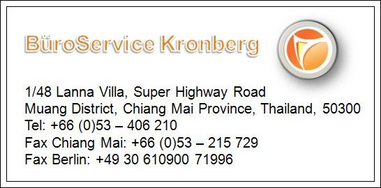 Ihr direkter Kontakt zu BüroService Kronberg