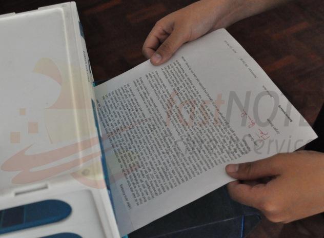 Wir erledigen Ihren Papierkram und Schreibkram