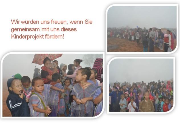 Kinderprojekt im Norden Thailands