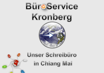 BüroService Kronberg in Chiang Mai, Thailand