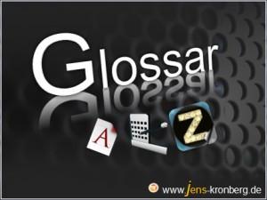 Glossar Büroservice A - Z