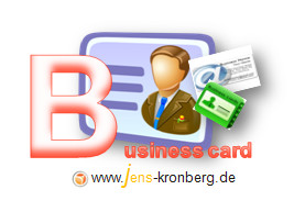 Schreibservice Glossar B - Business Cards