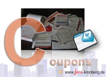 Adressenerfassung von  Informationscoupons