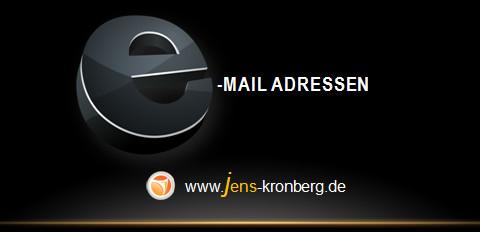 Schreibservice Glossar E - Email Adressen