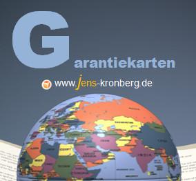 Schreibservice Glossar G - Garantiekarten