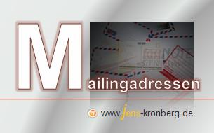 Schreibservice Glossar M - Mailingadressen