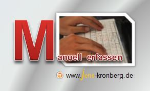 Schreibservice Glossar M - Manuell erfassen