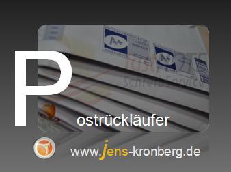 Schreibservice Glossar P - Postrückläufer