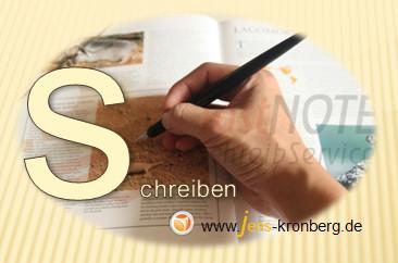 Schreibservice Glossar S - schreiben