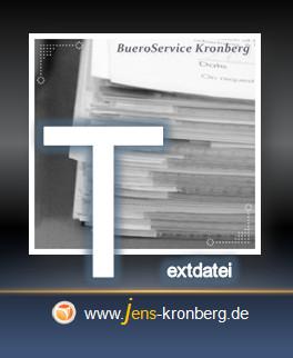 Schreibservice Glossar T -Textdatei