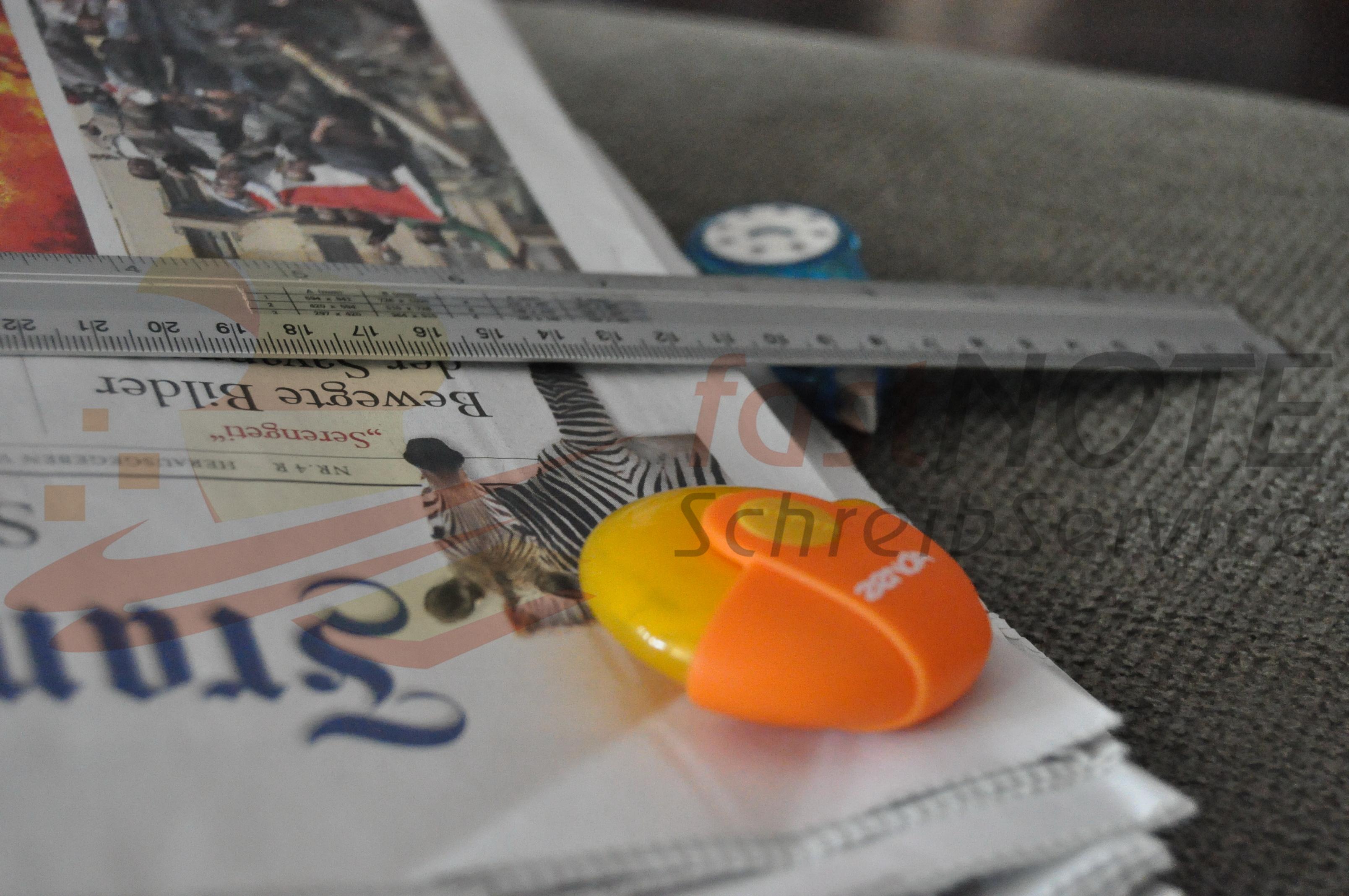 Adressen aus Magazinen und Zeitungen erfassen