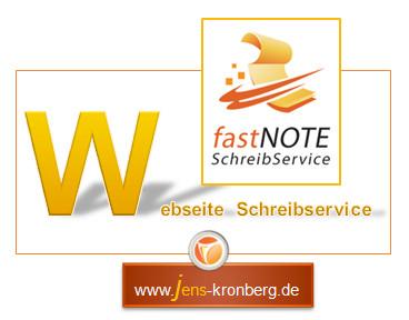 Schreibservice Glossar W - Webseite Schreibservice