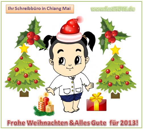 Alles Gute für 2013 wünscht BüroService Kronberg!