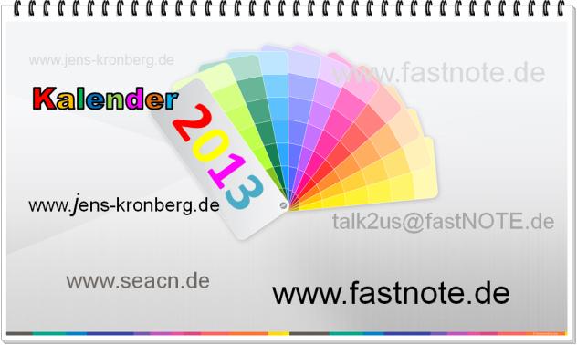 BüroService Kronberg Kalender 2013