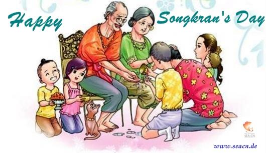 Happy Songkran Day 2013 wünscht ScanService Kronberg