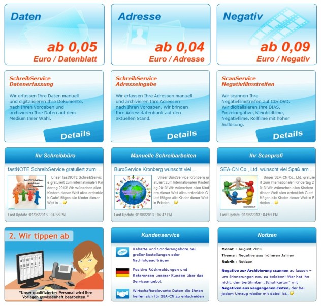 Startseite www.seacn.de