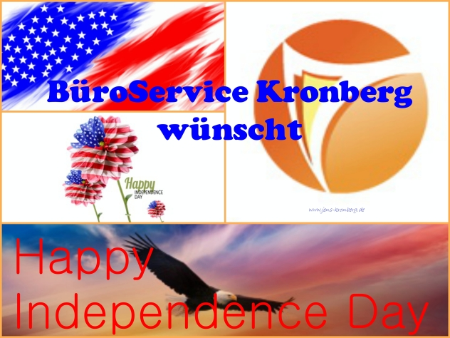 Independence Day 2015 BüroService Kronberg